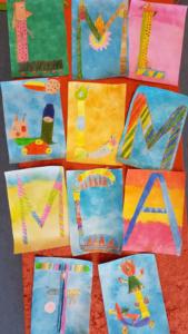 Bildende Kunst dritte Klasse