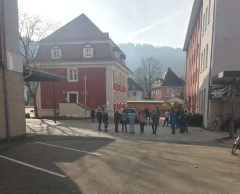 Verkehrserziehung Klassenstufe 4 - der tote Winkel